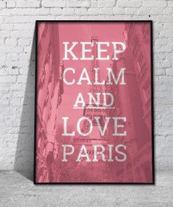 plakat Paryż