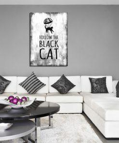 grafika w kolorze czarno-białym