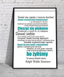 plakaty turkusowe i niebieskie