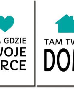 dwa plakaty