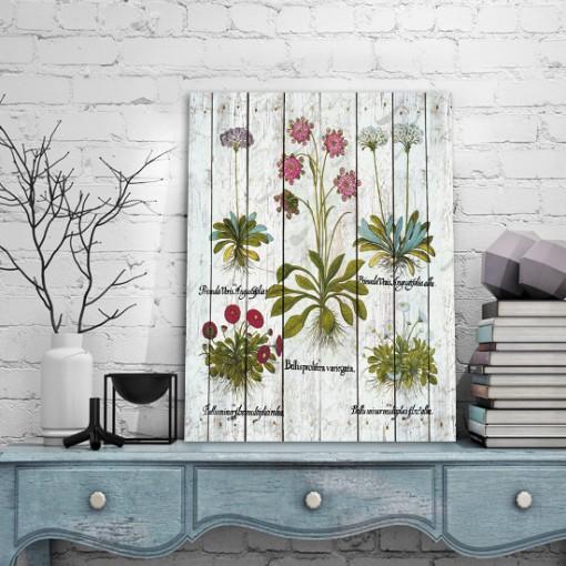 obrazy z kwiatkami