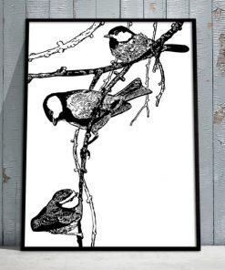 obrazy z ptakami