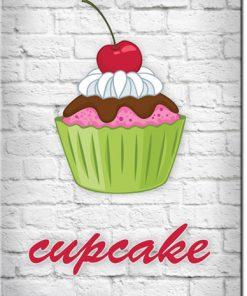 muffinka na plakacie