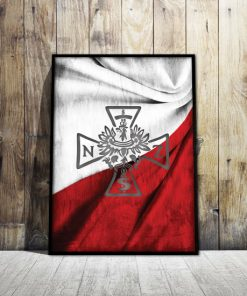 Plakaty Patriotyczne Y Polskimi Szmbolami I Znakami Na ścianę