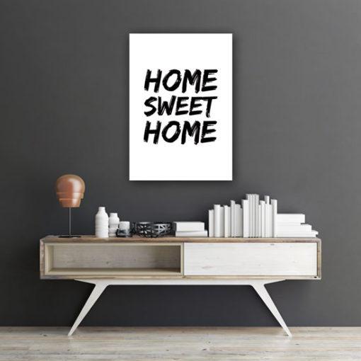 nowoczesne plakaty z napisami
