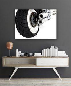 plakat o motorze