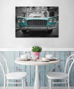 plakaty samochody