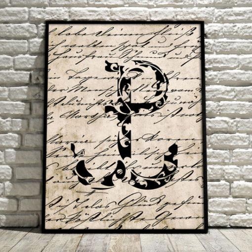 plakat z symbolem