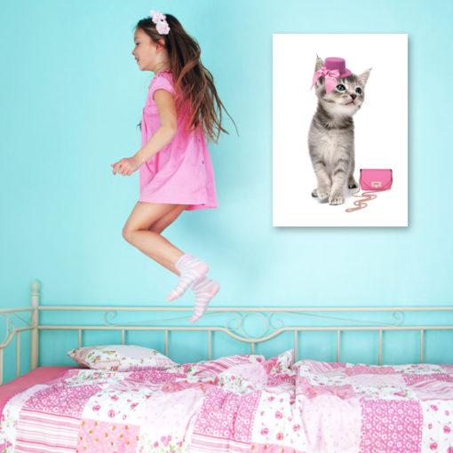 plakat kotka ślicznotka