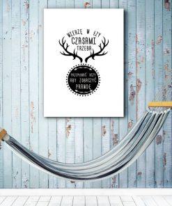 modne plakaty do sypialni