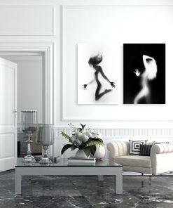 nowoczesne plakaty czarno-białe