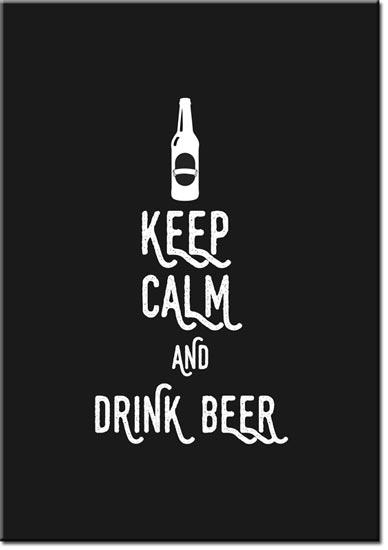 plakat o piwie