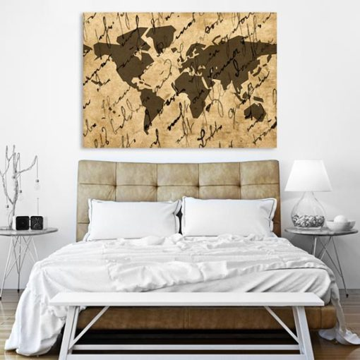 plakat geograficzny