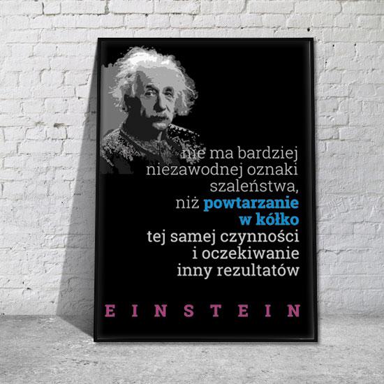 plakaty znani ludzie cytaty