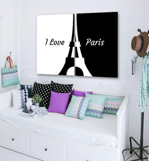 plakat na ścianę paryż