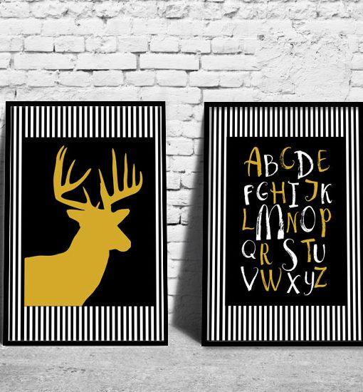 plakaty typograficzne
