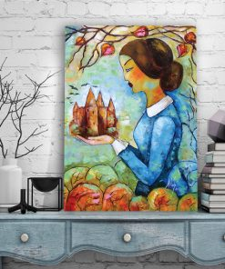 plakat z postacią Jane Eyre