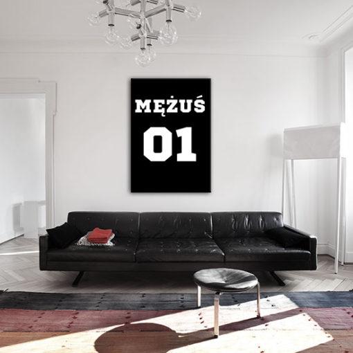plakat do nowoczesnego salonu