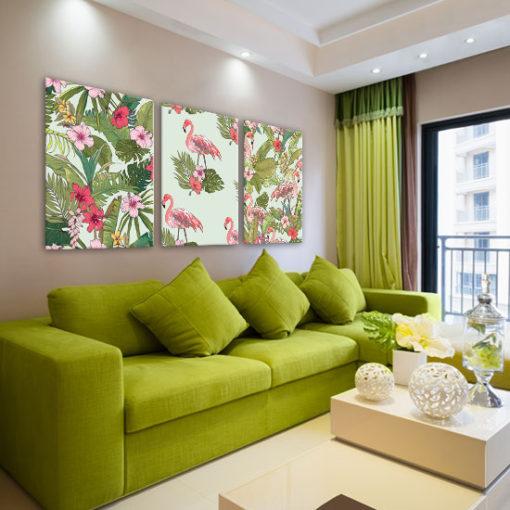 nowoczesne kolorowe grafiki na ściany