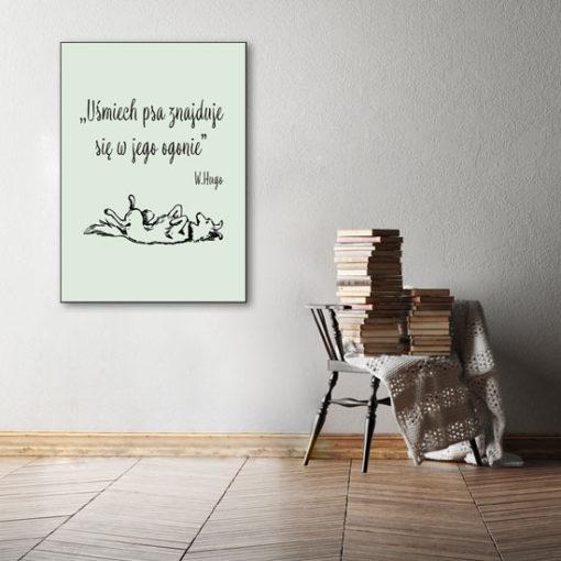 modne cytaty na ściany