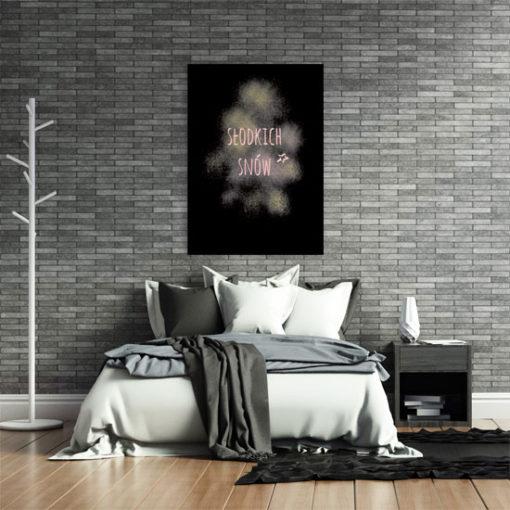 modne napisy na ściany