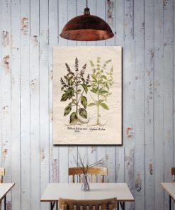 ozdoby z ziołami