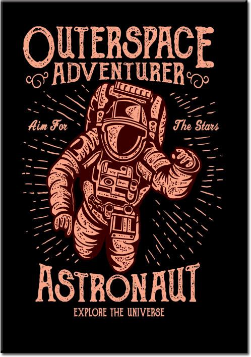 plakaty z astronatą