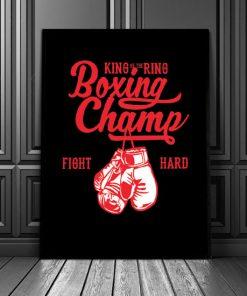 dekoracje z boksem