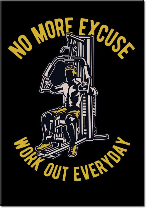plakaty z siłaczem