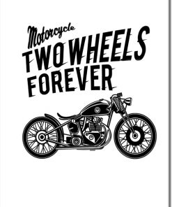 plakaty motocyklami