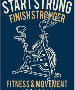 plakaty do siłowni