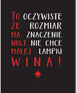 plakaty z typografia