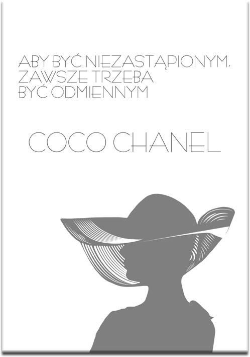 Plakat Coco Chanel