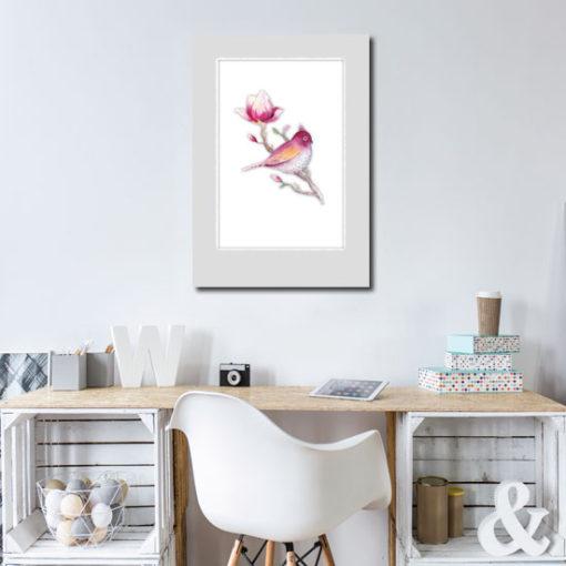 dekoracje z ptaszkami