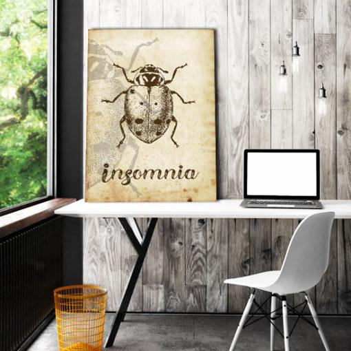 ozdoby z owadami
