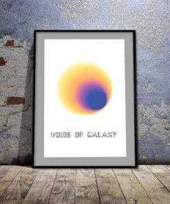 plakaty o galaktyce