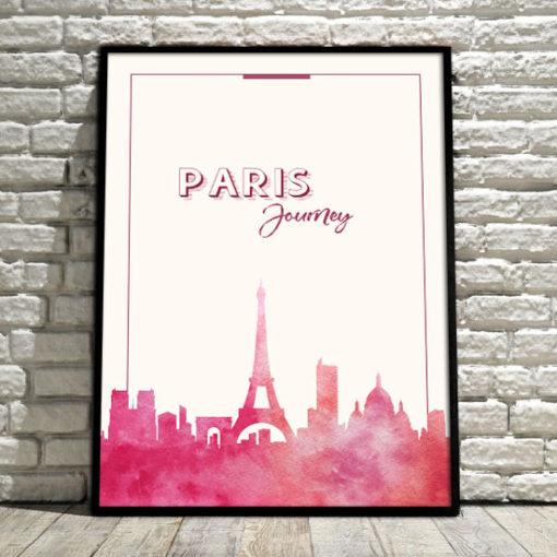 plakaty z podróżami