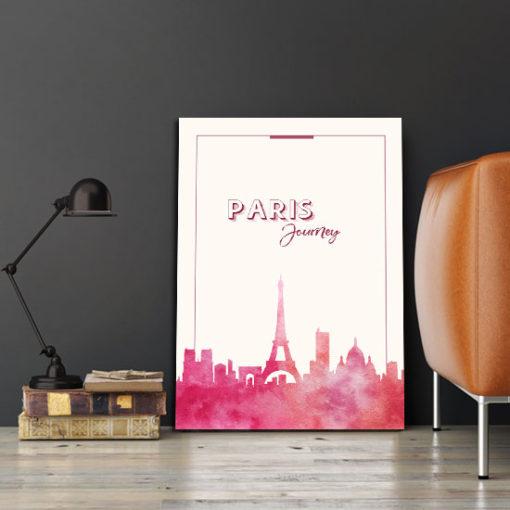 dekoracje z paryżem