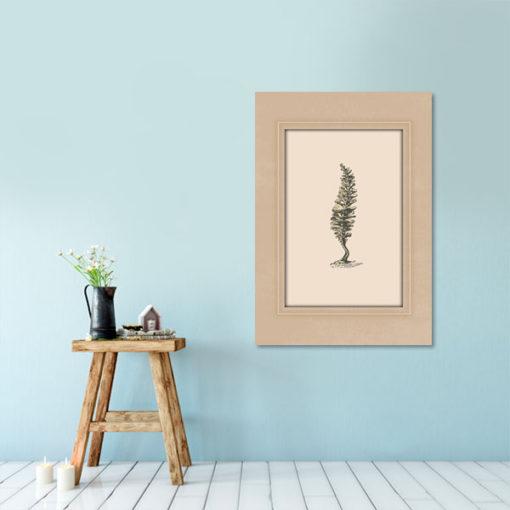 plakat studium rośliny