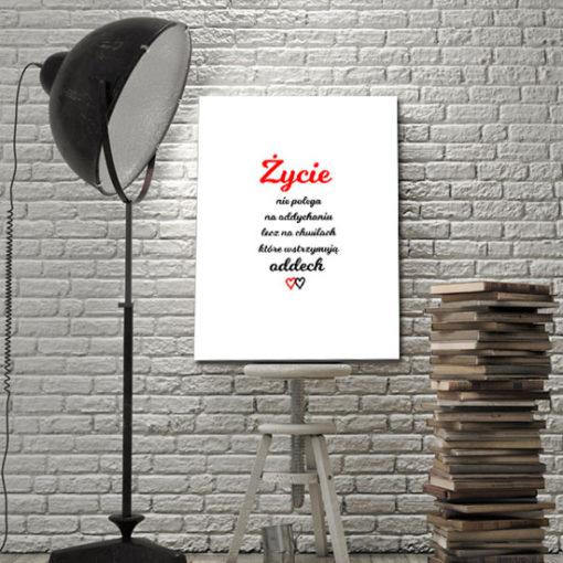 ozdoby z typografią