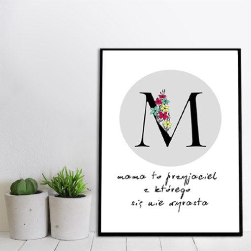 dekoracje o mamach