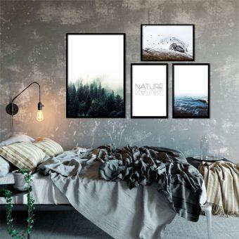 Plakaty z krajobrazami