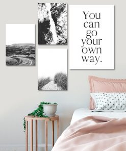 zestaw plakatów do sypialni