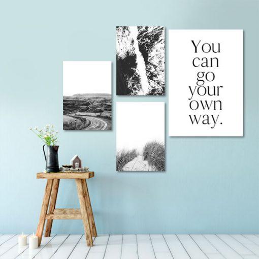 zestaw plakatów do pokoju