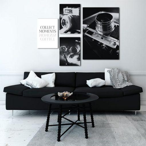 czarno-biały zestaw plakatów