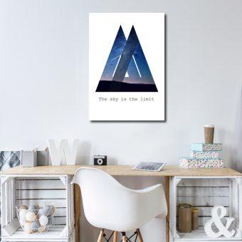Plakaty geometryczne