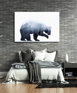 plakaty z niedźwiedziem