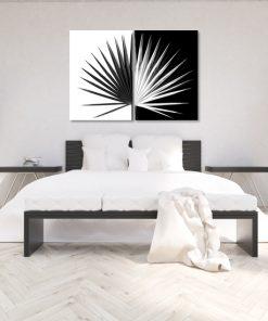 Podwójny plakat tropikalny do sypialni