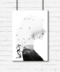 kobieta i góry