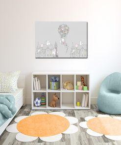 Plakat z króliczkami do pokoju dziecka